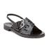 KENZO Women's Kruise Buckle Leather Sandals - Black: Image 5