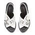 KENZO Women's Kruise Buckle Leather Sandals - White: Image 2