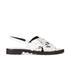 KENZO Women's Kruise Buckle Leather Sandals - White: Image 1
