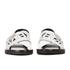 KENZO Women's Kruise Buckle Leather Sandals - White: Image 4