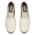 KENZO Women's Tiger Leather Flatform Espadrilles - Cream: Image 2