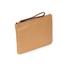 Coccinelle Women's Buste Leather Clutch Bag - Light Tan: Image 2