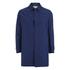 Oliver Spencer Men's Bolt Mac Coat - Lanark Blue: Image 1