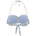 Mara Hoffman Women's Ruffle Bandeau Bikini Top - Aloe Pink: Image 2