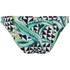 Mara Hoffman Women's Reversible Low Rise Bikini Bottoms - Aloe Black: Image 2