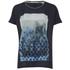 Maison Scotch Women's Photoprint T-Shirt - Blue: Image 1