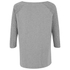Maison Scotch Women's 3/4 Sleeve Logo T-Shirt with Logo Burnout Artwork - Grey: Image 3