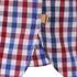 Barbour Men's James Tattersall Short Sleeve Shirt - Red: Image 4