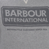 Barbour International Men's Logo Sweatshirt - Grey Marl: Image 3