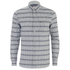 Lacoste Live Men's Patterned Long Sleeve Shirt - Grey: Image 1