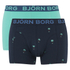 Bjorn Borg Men's Twin Pack Palms Boxers - Total Eclipse: Image 1