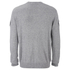 Alexander Wang Men's Crew Neck Sweatshirt With Barcode Patches - Heather Grey: Image 2