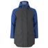 Elka Men's Thy Rain Jacket - Dark Grey/Royal Blue: Image 1