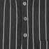 Opening Ceremony Men's Pinstripe Tunic Shirt - Black: Image 4