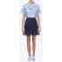 Carven Women's Short Sleeve Shirt - Blue: Image 2