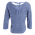 ONLY Women's Noah Short Knitted Pullover - Vintage Indigo: Image 2