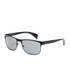 Prada Men's Conceptual Metal Sunglasses - Black: Image 2