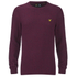 Lyle & Scott Vintage Men's Crew Neck Marl Seed Stitch Jumper - Ruby: Image 1