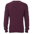 Lyle & Scott Vintage Men's Crew Neck Marl Seed Stitch Jumper - Ruby: Image 2