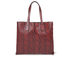 Marc By Marc Jacobs Womens Snake Wingman Shopping Tote Bag - Red: Image 5