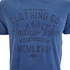 Tokyo Laundry Men's Indigo Tiger Acid Wash T-Shirt - Light Indigo: Image 3