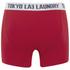 Tokyo Laundry Men's Tasmania 2 Pack Boxers - Optic White/Tokyo Red: Image 3