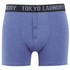 Tokyo Laundry Men's Kings Cross 2 Pack Button Boxers - Optic White/Cornflower Blue: Image 4