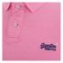 Superdry Men's Grindle Short Sleeve Pique Polo Shirt - Fluro Pink Grindle: Image 3