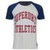 Superdry Men's Team Tigers Raglan T-Shirt - Ice Marl: Image 1