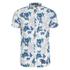 Superdry Men's Miami Oxford Short Sleeve Shirt - Large Hibiscus Optic: Image 1