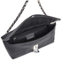 Calvin Klein Women's Kate Pebbled Leather Clutch Bag - Black: Image 4