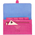 Aspinal of London Women's Classic Travel Wallet - Raspberry: Image 4