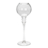 Bark & Blossom Glass Ribbed Stem Candle Holder: Image 1