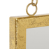 Bark & Blossom Hanging Gold Mirror: Image 3