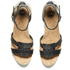 UGG Women's Maysie Wedged Sandals - Black: Image 2
