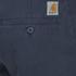Carhartt Men's Low Waist Johnson Shorts - Duke Blue: Image 3