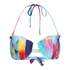 Wildfox Women's Mermaid Dye Bikini Top - Multi: Image 1