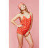 Wildfox Women's Ruffle Romper - Cupid Hearts: Image 2