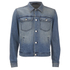 BLK DNM Men's Loose Fitted Denim Jacket - Tinton Blue: Image 1