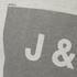 Jack & Jones Men's Core Take Hoody - Treated White: Image 3