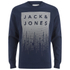 Jack & Jones Men's Core Noise Sweatshirt - Navy Blazer: Image 1