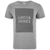 Jack & Jones Men's Core Take T-Shirt - Light Grey Melange: Image 1
