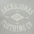 Jack & Jones Men's Originals Diamond T-Shirt - Light Grey Marl: Image 3
