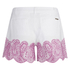 MICHAEL MICHAEL KORS Women's Embroidered Mini Shorts - White: Image 2
