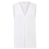 MICHAEL MICHAEL KORS Women's Double Layer Tank Vest - White: Image 1