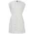 McQ Alexander McQueen Women's Lace Cape Dress - Ivory: Image 1