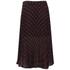 McQ Alexander McQueen Women's Pleated Skirt - Red/Black: Image 2