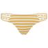 Paolita Women's Voyage Endeavour Bikini Bottoms - Yellow/White: Image 1