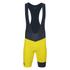 Le Coq Sportif Performance Premium N2 Bib Shorts - Yellow: Image 1