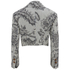 Vivienne Westwood Red Label Women's Cropped Lou Lou Jacket - Ticking Print: Image 2
